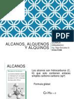 Química Orgánica I 4 ALCANOS