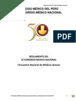 A. Reglamento Ix Congreso Medico Nacional