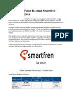 Cara Daftar Paket Internet Smartfren Terbaru Lengkap