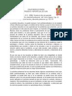Santos, M. Á. (2006). Enseñar El Oficio de Aprender.
