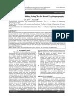 Confidential Data Hiding Using Wavlet Based Ecg Stegnography