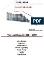 The Lost Decade SEP Case