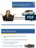 Japan Auto Sales Case Study