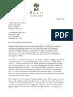 RAICES Letter to Rep. Boehner and Rep. Pelosi