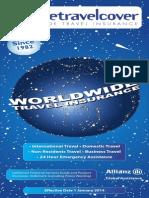 Aussie Traveler world wide travel insurance