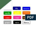 Italiano - I Colori