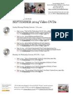 2014 Video DVD Catalog