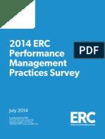 14 Performance Management Practices Survey