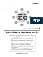 Mdx 650 500 Software Spanish