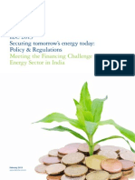 Meeting the Financing Challenge in the Energy Sector in India