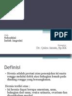 Case Report Session - Hernia