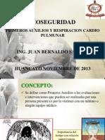 Primeros Auxilios y RCP11