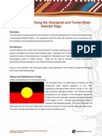 Respect Guidelines for Flying the Aboriginal and Torres Strait Islander Flags Queensland Governement