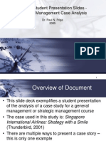 Sample Student Presentation Slides - Paul Friga - 2005