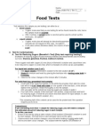 08 PW Food Tests Guide