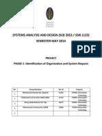 Hostel System Analysis Design (part 1)