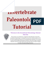 Invertebrate Paleontology Tutorial