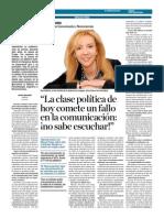Sara Dobarro El Correo