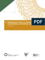 Propuestas Para La Política Nacional de Desarrollo Regional en El Perú Gonzalo Neyra