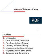 Term Structure of Interest Rate