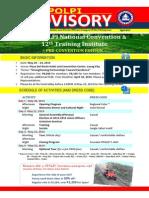 PPOLPI Advisory - 2014 - April Convention Edition