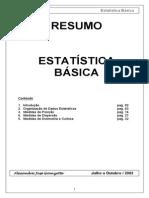 Resumo estatistica