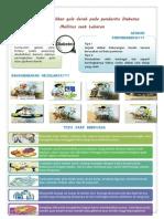 Penyuluhan DM Leaflet