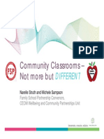Community Classrooms PPt