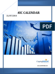 U.S.Economic Calendar Weekly Report by Money CapitalHeight