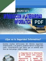 Introduccion a La Seguridad Informatica