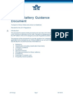 Lithium Battery Guidance 2014
