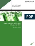 AP Chemistry Course and Exam Description