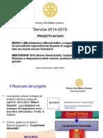 Commissione Progetti Rotary Club Milano Duomo