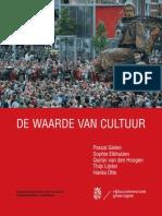 Onderzoeksrapport de Waarde Van Cultuur