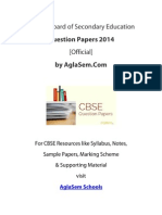 CBSE 2014 Question Paper for Class 12 Engineering Graphics