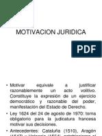 MOTIVACION JURIDICA