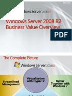 Windows Server 2008 - Presentation Slides