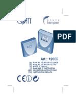 COATI Temporizador Calefaccion-Instrucciones