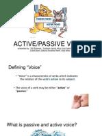 Bi Presentation(active and passive voice)
