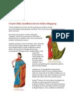 Jamdhani Sarees – Wondrous Creations of Bengal