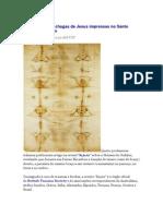 Revelações Das Chagas de Jesus Impressas No Santo Sudário de Turim