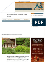 A Traveler's Guide to the Isha Yoga Center - The Isha Blog