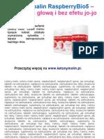 Suplement diety RaspBerryBio5
