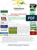 21st July,2014 Daily Global Exclusive ORYZA Rice E-Newsletter by Riceplus Magazine
