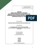 Proposal Kordinator Jawa MP3EI - ITB 2012