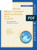 Developing Multi-tenant Applications for the Cloud 3rd Edition