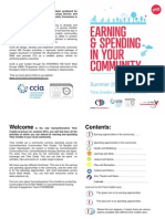 SW Wales Community Earn and Spend Brochure Summer 2014