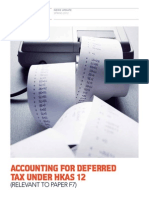 Deferred Tax HKIS