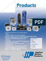 Amp Servo Products Datasheet